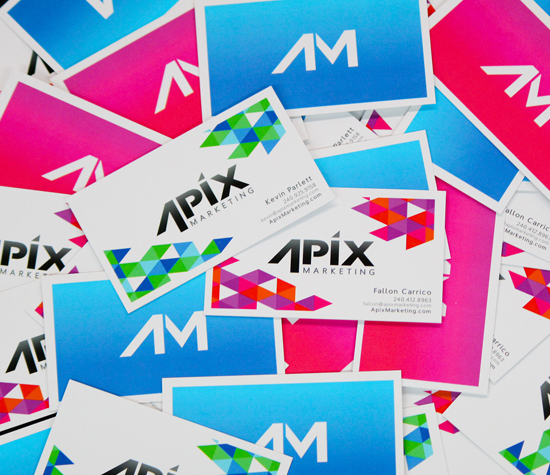 Apix Marketing Business Cards