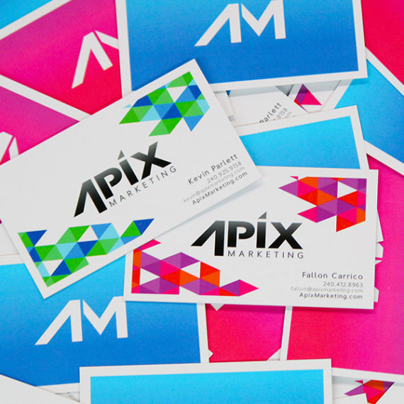 Apix Marketing Business Card